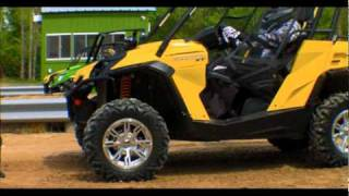 10. Can-Am Commander Power and Fuel