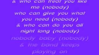 Keith Sweat-Nobody Lyrics
