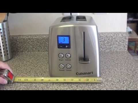 Video Cuisinart Countdown Classic 2-Slice Toaster review download in MP3, 3GP, MP4, WEBM, AVI, FLV January 2017