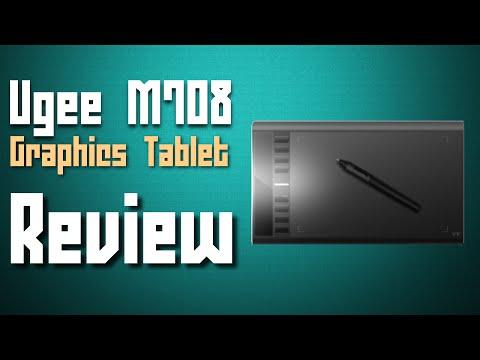   Ugee M708 Graphics Tablet   - Review - Jetsaber