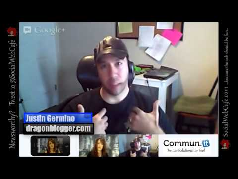 dragonblogger - Social Web Cafe Interviews http://www.SocialWebCafe.com ---------------------------------------------- Deborah interviews Justin Germino, of http://www.drago...