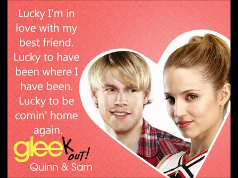 Lucky - Glee Cast - Lyrics