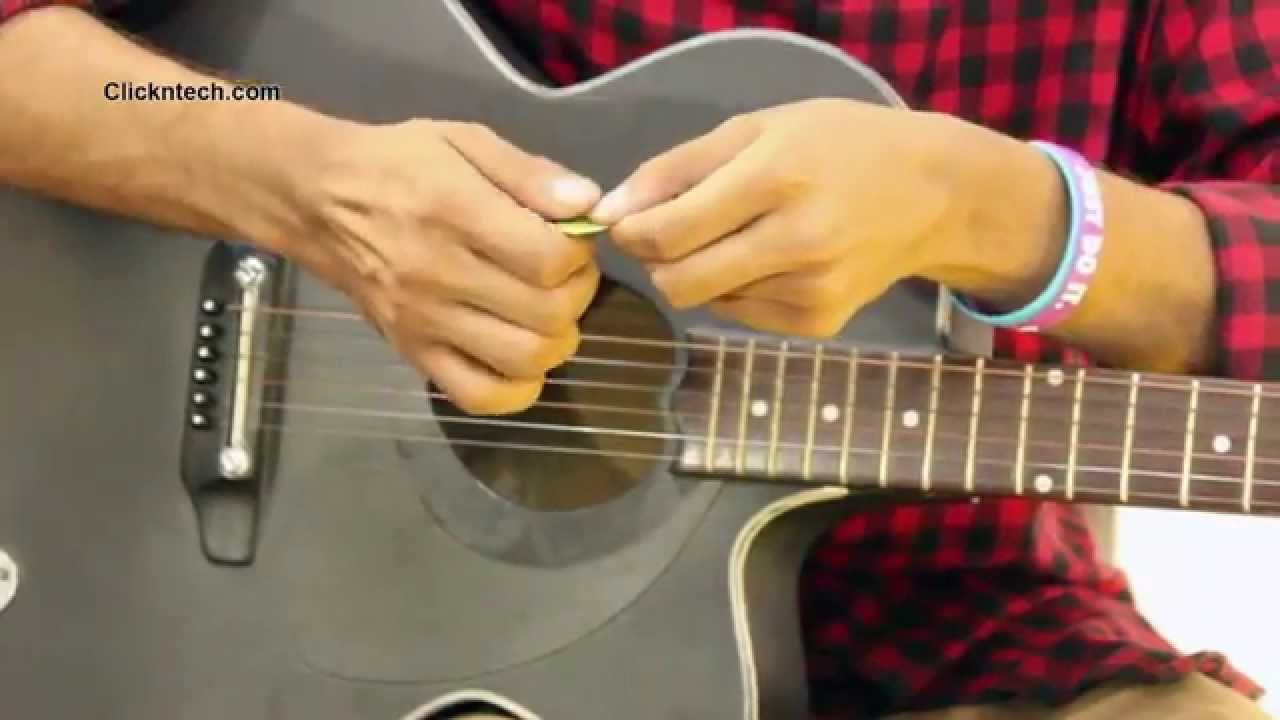 Bangla Guitar Lessons for Beginners #3 | Holding Pick & Strike