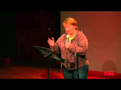 Jackie Kashian performs for RISK! at NYC PodFest - January 12, 2013