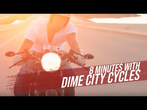8 Minutes with Dime City Cycles - A look behind the scenes of The Wing'd Piston