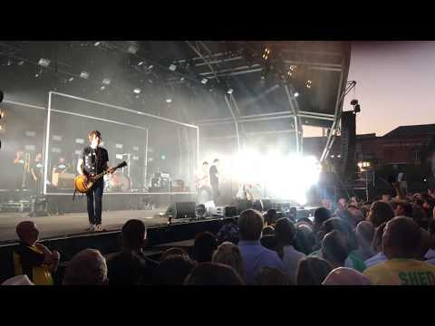 Shed Seven - Going For Gold - live at the Manchester Castlefield Bowl. 29th June 2018.