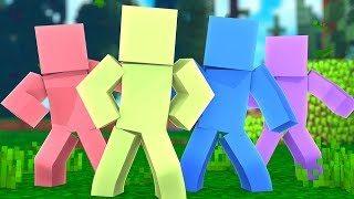 *4 Player* 100 vs 100 vs 100 vs 100 Clay Soldiers Battledome- Minecraft Modded Minigame | JeromeASF