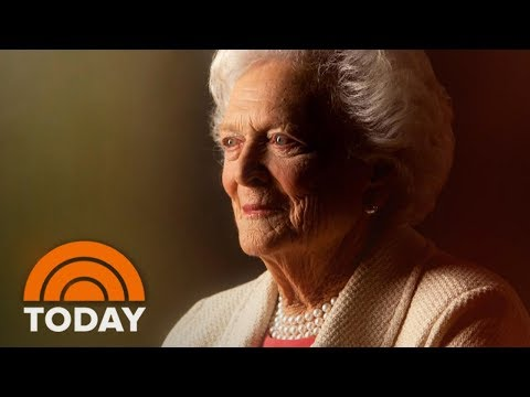Former First Lady Barbara Bush Has Died At Age 92; Tributes Pour In | TODAY