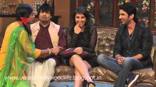 Parineeti Chopra Promote Shudh Desi Romance At Comedy Nights With Kapil TV SHOW