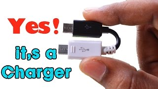 How to Make a Emergency Mobile Phone Charger - For Smart Phones Video