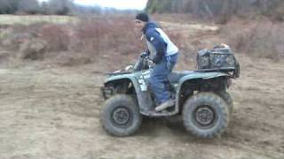 6. 2008 Yamaha Big Bear 400 IRS Rippin it up!