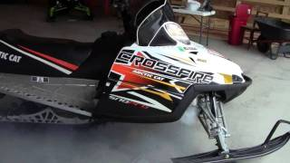 8. 2010 ARCTIC CAT CROSSFIRE 800 SNO PRO Review Duluth MN