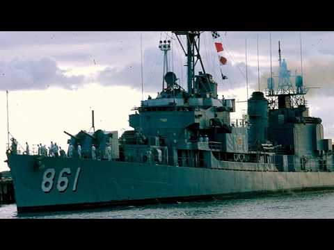 USNM Interview of Anthony Accatatta Part Six Life on the USS Harwood DD 861