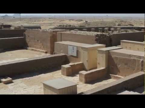 archeologia - la tomba di horemheb a saqqara