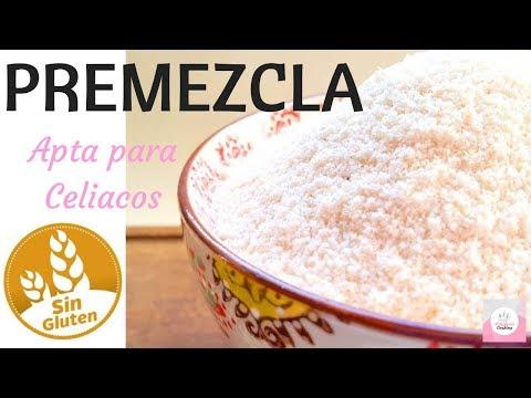 PREMEZCLA SIN GLUTEN - Marianela Cooking
