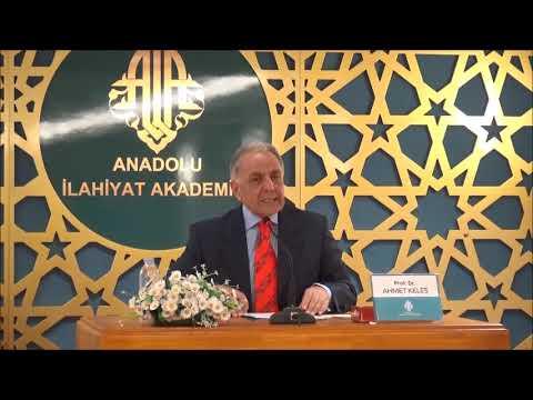 Prof.Dr. Ahmet KELEŞ - Sahabe ve Tabiin Toplumunun Düşünce Yapısı