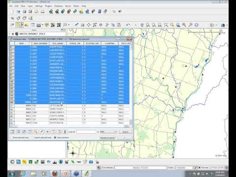 attribute - This webinar covers the following topics related to using QGIS (a free and open-source GIS software program): Viewing Attributes and Selecting Features Spati...