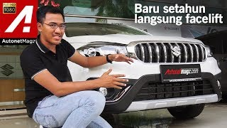 Video Suzuki SX4 S-Cross Facelift 2018 First Impression Review by AutonetMagz MP3, 3GP, MP4, WEBM, AVI, FLV Desember 2017