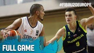 Watch Serbia v Slovenia at the FIBA U20 European Championship 2017. ▻▻ Subscribe: http://fiba.com/subYT Click here for...