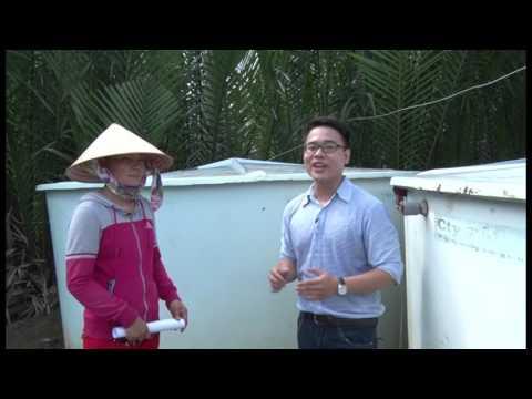 Cung cấp nước sinh hoạt qua ghe xà lan huyện Cần Giờ