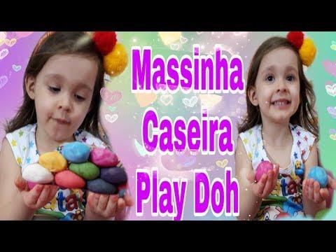 Massinha Play Doh Caseira