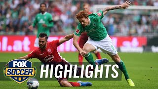Werder Bremen vs. Fortuna Dusseldorf | 2019 Bundesliga Highlights by FOX Soccer