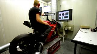 4. Ducati Panigale 1199R Dyno 3 july 192 din HP rear wheel