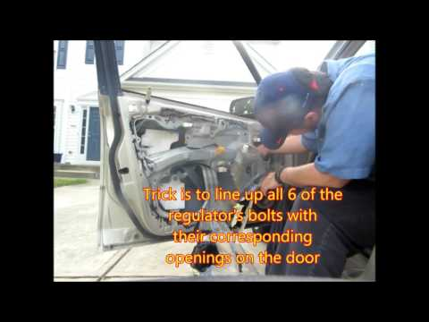 Window Regulator replacement 1999-2003 Mazda Protege