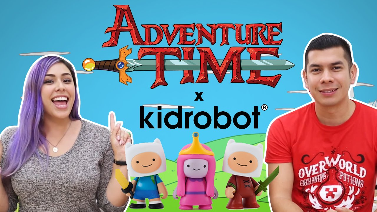 ADVENTURE TIME x Kidrobot Mini Figures