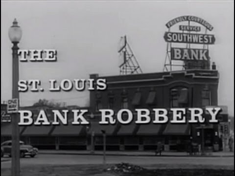 The St. Louis Bank Robbery (1959) [Film Noir] [Crime] (видео)