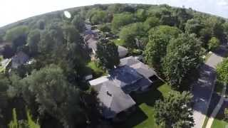 Lombard (IL) United States  City pictures : Phantom 2 Flight over Lombard Illinois