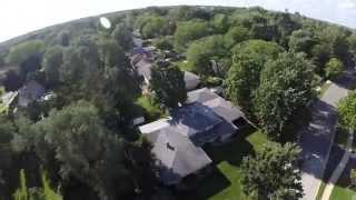 Lombard (IL) United States  city photos : Phantom 2 Flight over Lombard Illinois