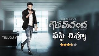 Goutham Nanda Telugu Movie Review, Rating