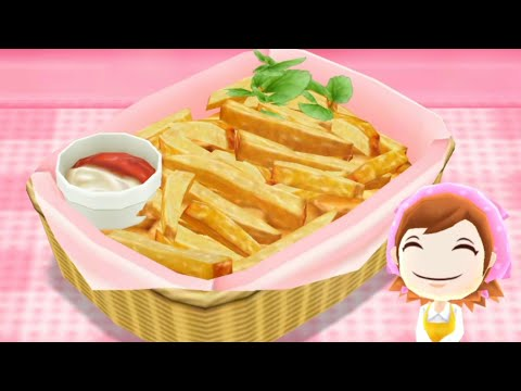 Cooking Mama: Let's Cook French Fries | Kids Gameplay