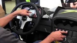 2. Can Am UTV Cockpit Controls. Commander and Maverick