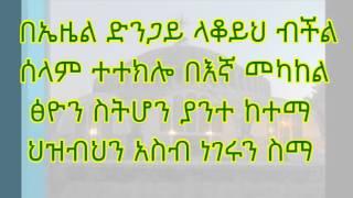 Deakon Zemary Sura Oicha&zemar Fekadu ዮናታን ወንድሜ
