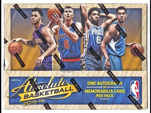 Panini 2015/16 Absolute Basketball 10-Box Case Break #2 - Cherry Live