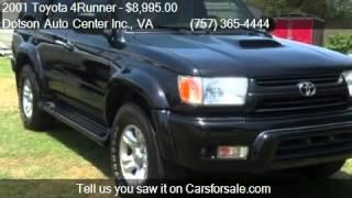 Carrollton (VA) United States  city photos : 2001 Toyota 4Runner SR5 SPORT PKG for sale in Carrollton, VA