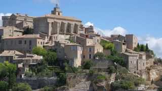 Gordes France  City pictures : Gordes France in 4K (Sony AX100E)