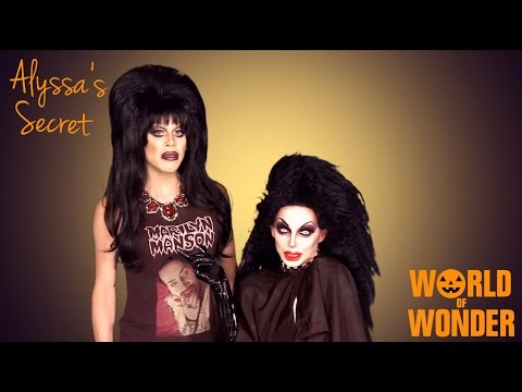 edwards - Enjoy the video? Subscribe here! http://bit.ly/1fkX0CV Happy Halloween! To celebrate this creepy time of year, Alyssa Edwards welcomes the Queen of Scream, Sharon Needles on this spooky...