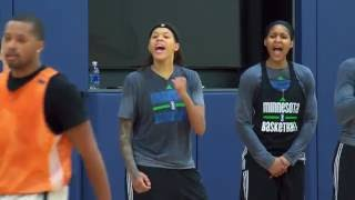 Minnesota Lynx All-Access Practice by WNBA