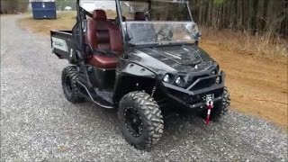 9. 2017 Intimidator UTV 800cc Sport Package Walk Around