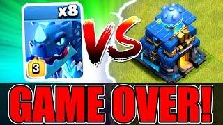 Video ALL MAX ELECTRO DRAGONS vs TOWN HALL 12! - SHOCKING OUTCOME! - Clash Of Clans MP3, 3GP, MP4, WEBM, AVI, FLV Juni 2018
