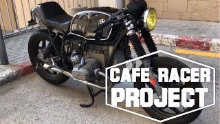 5. Bmw R65 Cafe Racer Cold start