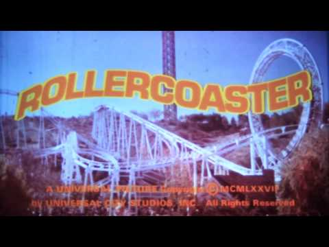 Rollercoaster Theatrical Trailer 1977 16mm Print