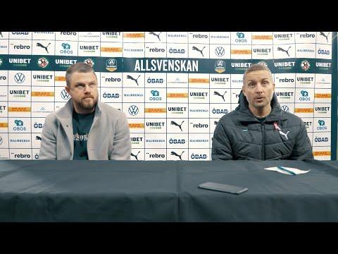 Presskonferens: ÖSK – IF Elfsborg