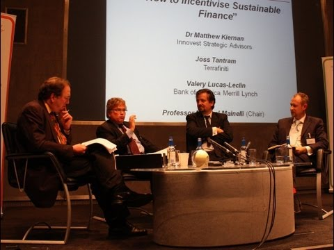 Wie Incentivise Sustainable Finance - Long Finanzen Podiumsdiskussion
