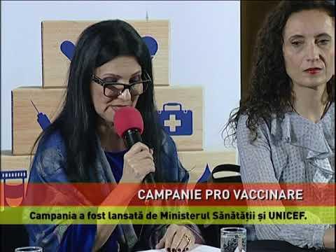 Campanie de promovare a vaccinării copiilor