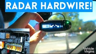 GET RID OF THOSE ANNOYING CORDS || Hardwiring Your Radar Detector by Vehicle Virgins