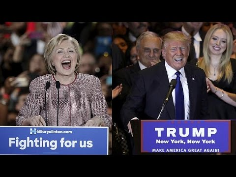 ΗΠΑ: Πιο κοντά στο χρίσμα Ντόναλντ Τραμπ και Χίλαρι Κλίντον